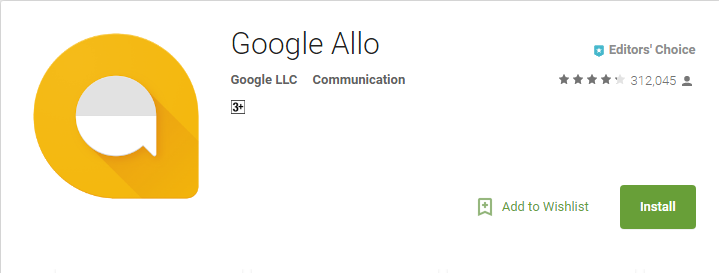 Google Allo - Android Chat App