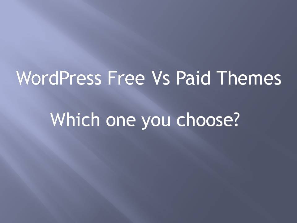 WordPress Free vs Paid Theme for your Next Project!