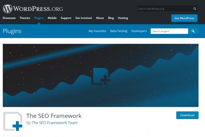 The SEO Framework - best seo plugin wordpress