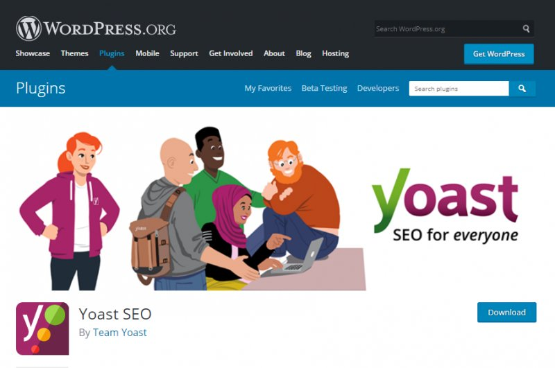 Yoast SEO - best seo plugin wordpress
