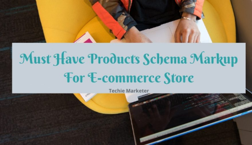 Product Schema for ecommerce
