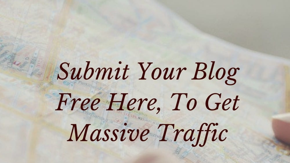 Blog submission sites