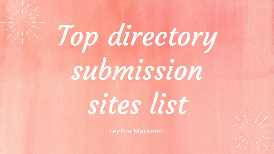 Directory Submission Site List Drives Crazy Traffic To The Website