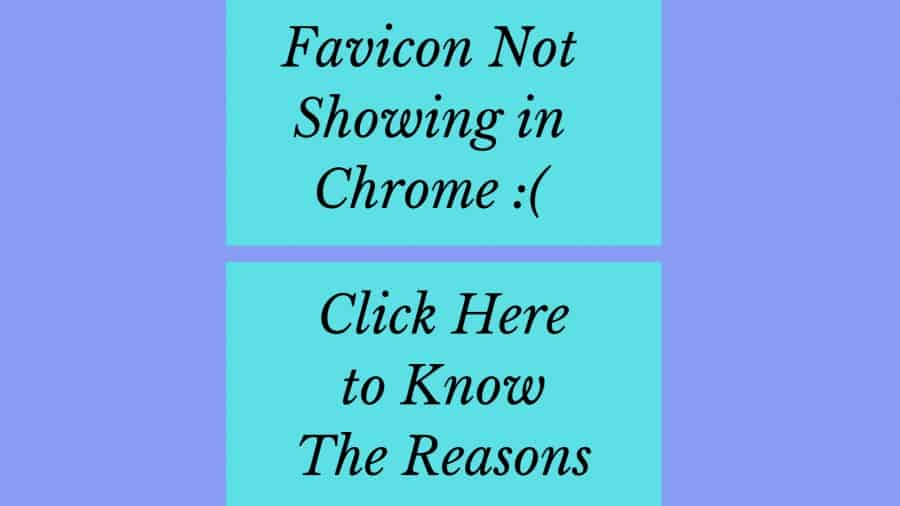 What is Favicon and How to Deal with Not Showing Issue