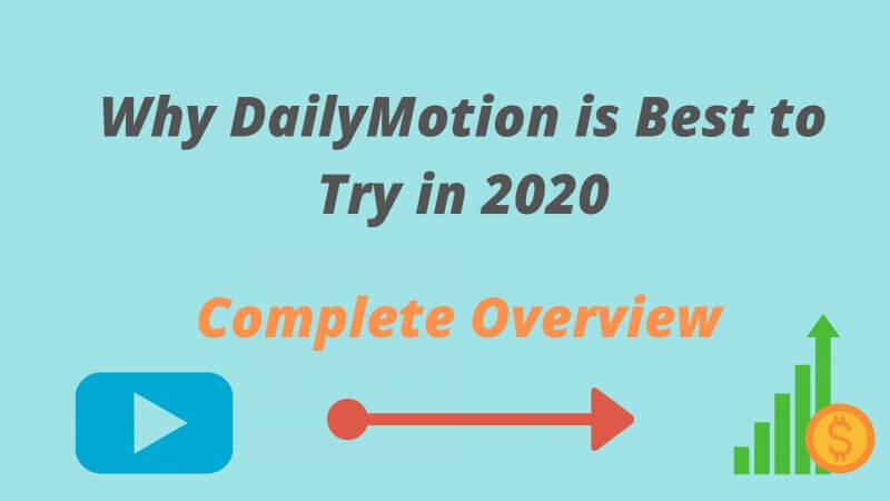 DailyMotion Monetization