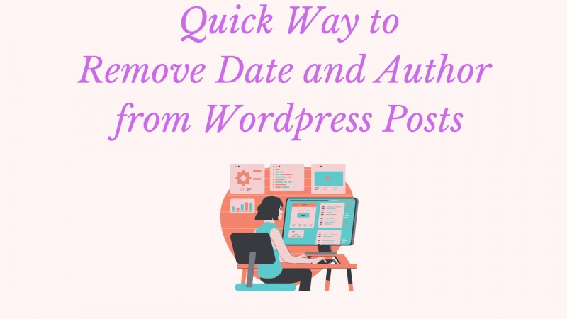 Remove Date and Author from Wordpress Posts
